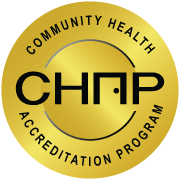 Community Health accredited seal